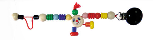 Schnullerkette Clowny